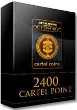 Star Wars The Old Republic 2400 Cartel Points